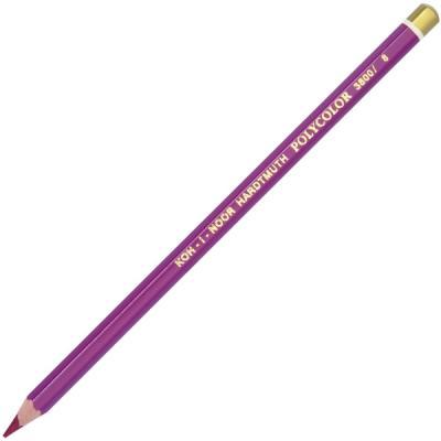 Карандаш художественный POLYCOLOR, красно-бордовый карандаш художественный polycolor красно оранжевый