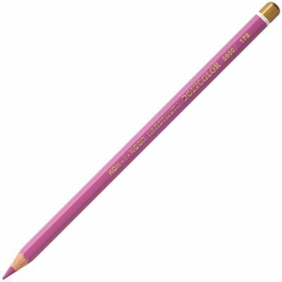 Карандаш художественный POLYCOLOR, красно-фиолетовый карандаш художественный polycolor красно оранжевый