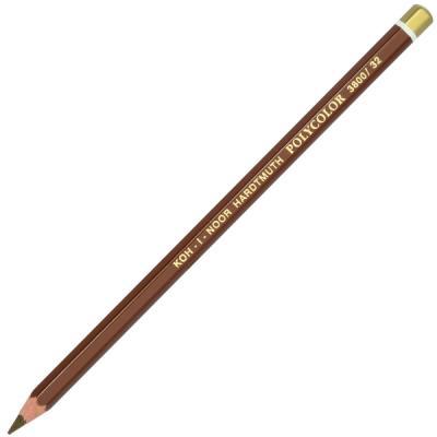 Карандаш цветной Koh-i-Noor POLYCOLOR, натуральная охра 175 мм 3800/32 карандаш цветной koh i noor 4398 4398
