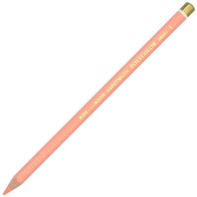 Карандаш художественный POLYCOLOR, абрикосово-оранжевый карандаш художественный polycolor красно оранжевый