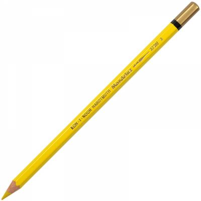 Карандаш цветной Koh-i-Noor MONDELUZ, желтый хром 175 мм акварельные 3720/03