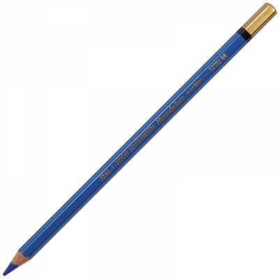 Карандаш цветной Koh-i-Noor MONDELUZ, кобальтово-синий 175 мм акварельные 3720/54 синий шоу lanchen цветной карандаш 04 серый анти цветущие прочный водонепроницаемый
