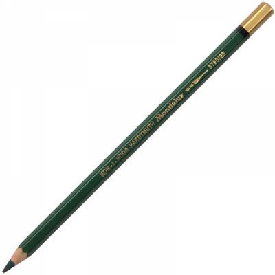 Карандаш акварельный MONDELUZ, темно-зеленый rembrandt aquarell true green карандаш акварельный