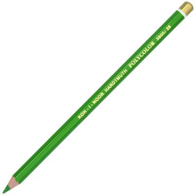 где купить Карандаш художественный POLYCOLOR, зеленый по лучшей цене