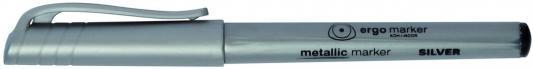 Маркер перманентный Koh-i-Noor 2 мм серебристый 233442 koh i noor маркер для доски цвет красный