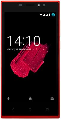 Смартфон Prestigio Muze C7 LTE красный 5 8 Гб LTE Wi-Fi GPS 3G смартфон zte blade a510 серый 5 8 гб lte wi fi gps 3g