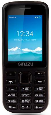 """где купить Мобильный телефон GINZZU M201 черный 2.4"""" по лучшей цене"""