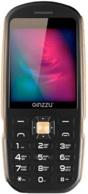 Мобильный телефон GINZZU R1D черный