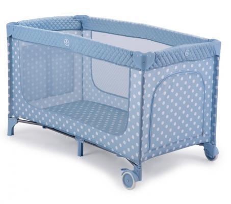 Кровать-манеж Happy Baby Martin (aqua) кровать манеж happy baby lagoon v2 green