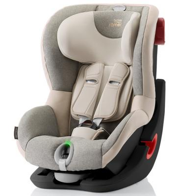 Автокресло Britax Romer King II LS Black Series (sand marble highline)
