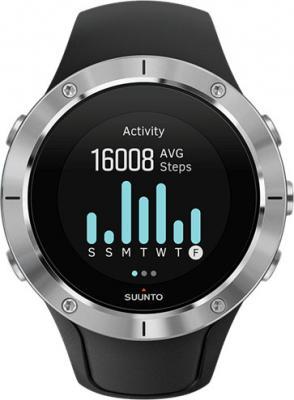 Смарт-часы Suunto Spartan Trainer Wrist HR черный серебристый SS023425000 часы туристические suunto chung billiton ss015855000 suunto m2