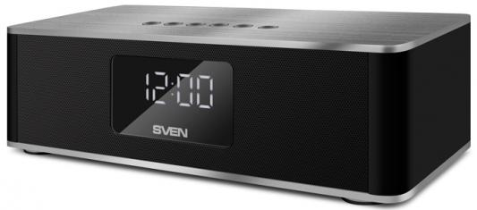 Портативная акустика Sven PS-190 10Вт Bluetooth черный серебристый цена