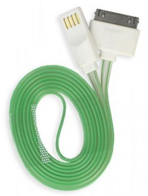 Дата-кабель Smartbuy USB - 30-pin для Apple, с индикацией заряда, длина 1,2 м (iK-412s)/500 цена и фото