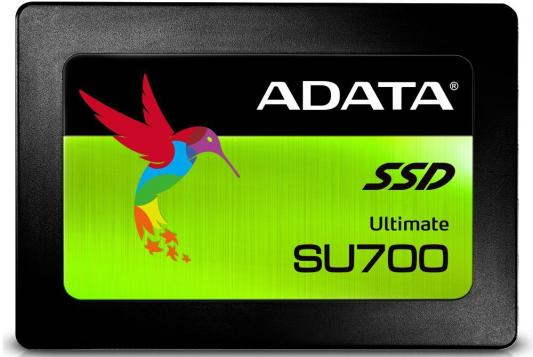Твердотельный накопитель SSD 2.5 960Gb A-Data Ultimate SU700 Read 560Mb/s Write 520Mb/s SATAIII ASU700SS-960GT-C