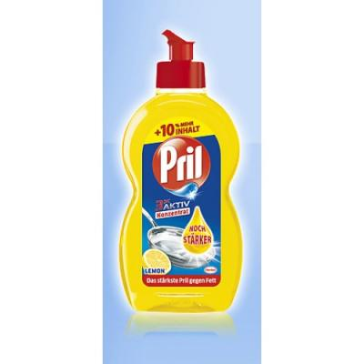 PRIL Средство для мытья посуды Лимон 450мл