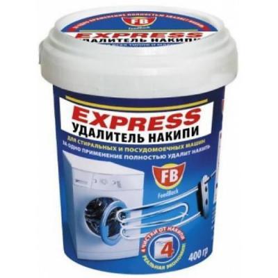 FeedBack EXPRESS удалитель накипи для стиральных и посудомоечных машин в пластиковой банке 400 гр. очиститель накипи для стиральных и посудомоечных машин feed back express 400 гр
