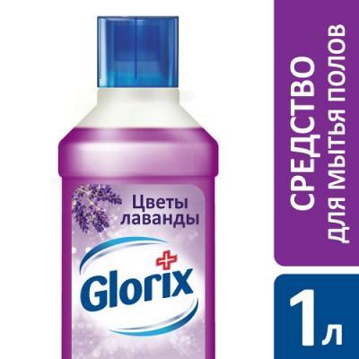 GLORIX Чистящее средство для пола Цветы лаванды 1л glorix чистящее средство для пола цветы лаванды 1л