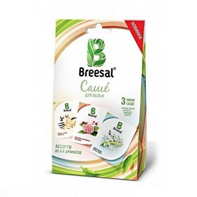 """Саше для белья BREESAL """"Ассорти"""" 19.5 гр BMSAC0304 саше breesal breesal br020audkr61"""