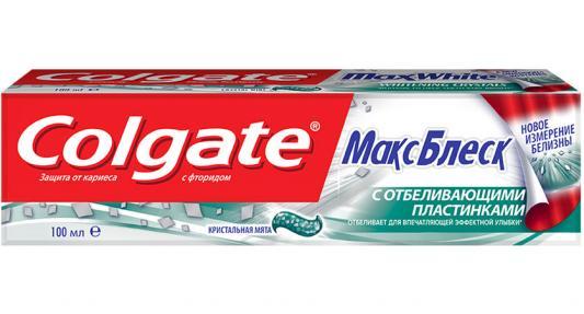 Зубная паста Colgate Макс Блеск 100 мл CN00849A/FCN89250/FCN89076 colgate optic white sparkling white whitening toothpaste 75 ml