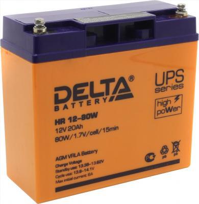 Батарея Delta HR 12-80W 20Ач 12B delta