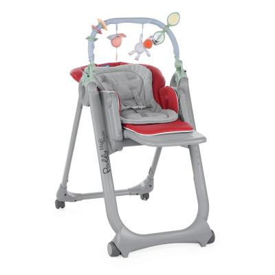 Стульчик для кормления Chicco Polly Magic Relax (red) chicco polly magic paprika