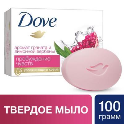 Мыло твердое Dove Пробуждение чувств 100 гр 67069894 мыло твердое dove кокос 100 гр 67556982