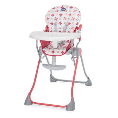 Стульчик для кормления Chicco Pocket Meal (red) стульчик для кормления safety1st timba with tray and cushion red lines