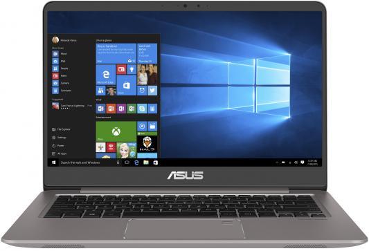 Ноутбук ASUS ZenBook UX410UA-GV399T (90NB0DL3-M08020) ноутбук asus zenbook ux410ua gv399t 14 1920x1080 intel core i5 8250u 90nb0dl3 m08020
