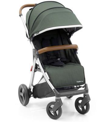 Прогулочная коляска с накидкой на ножки Oyster Zero (olive green) прогулочная коляска bertoni apollo накидка на ножки зелено серый green