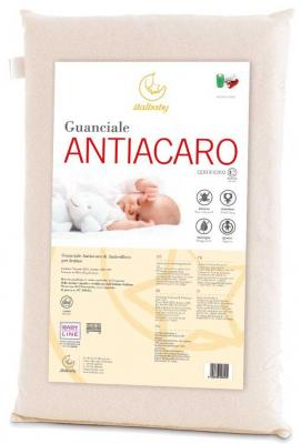 Матрас+подушка Italbaby Antiacaro (белый/030,4200-) матрас 63x125см italbaby supersoft 010 0920