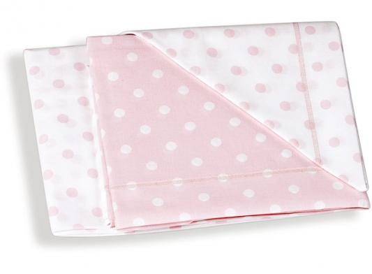 Сменное постельное белье 3 предмета Italbaby (розовый горошек/020.1005-001) постельное белье dream time blk 46 sp 337 1 2c 3 предмета
