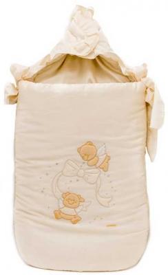 Конверт на молнии 40х80см Italbaby Sweet Angels (крем/730.0081-6) italbaby конверт на выписку на молнии italbaby love крем
