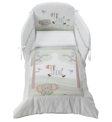 Постельный сет 5 предметов Italbaby Zerby (цветной/70x140 104.0069-) постельный сет italbaby teddy крем 100 0019 6