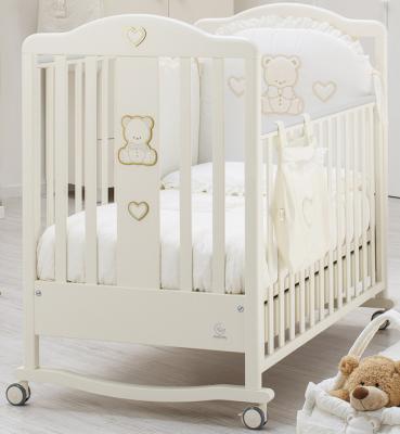 Кроватка Italbaby Amore (крем/070,0310-) italbaby плетеный ящик для игрушек amore italbaby белый