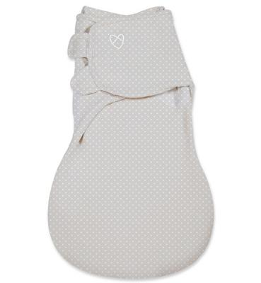 Конверт на липучке размер S/M Summer Infant Wrap Sack (серый звезды/54280)