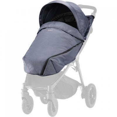 Купить Капор и накидка для коляски Britax B-Agile/ B-Motion 4 Plus (blue denim), Сменные комплекты