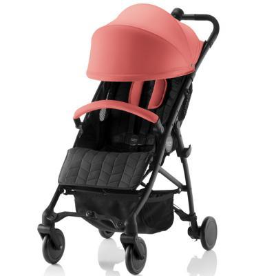Прогулочная коляска Britax B-Lite (coral peach) прогулочная коляска britax b lite steel grey