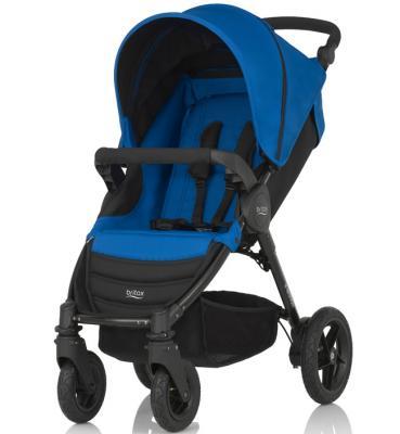 Прогулочная коляска Britax B-Motion 4 (ocean blue) коляска britax romer b motion 4 blue denim 2000025709