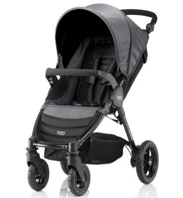 Купить Прогулочная коляска Britax B-Motion 4 (black denim), черный, Прогулочные коляски