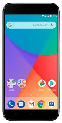 Смартфон Xiaomi MI A1 черный 5.5 64 Гб LTE Wi-Fi GPS 3G смартфон asus zenfone live zb501kl золотистый 5 32 гб lte wi fi gps 3g 90ak0072 m00140