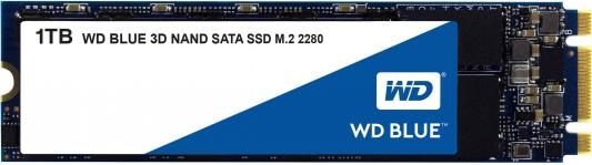 Твердотельный накопитель SSD M.2 1Tb Western Digital Blue Read 560Mb/s Write 530Mb/s SATAIII WDS100T2B0B amkov 2 7inch lcd 15 0mp digital camera 4x digital zoom antishake