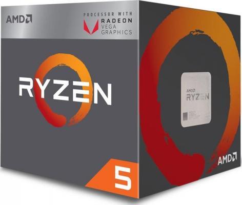 Процессор AMD Ryzen 5 2400G YD2400C5FBBOX Socket AM4 BOX