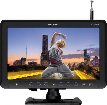 Автомобильный телевизор Hyundai H-LCD900 9 черный телевизор hyundai h led32r401bs2