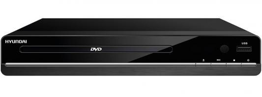 Проигрыватель DVD Hyundai H-DVD180 черный портативный dvd проигрыватель sony