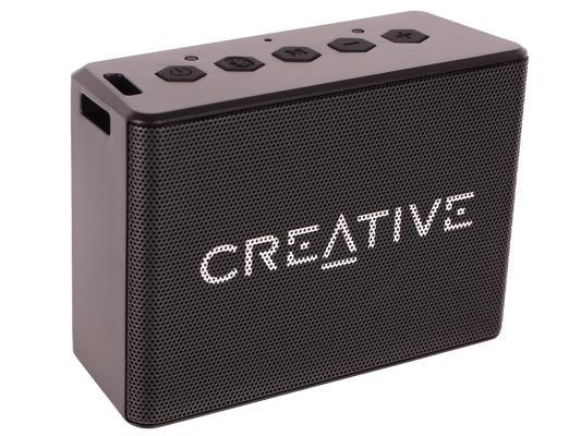 Портативная акустика Creative MUVO 1C черный цена и фото