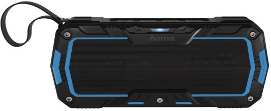 Портативная акустика Hama Rockman-L черный/синий 00173112 смотка hama 00020566 белый синий черный