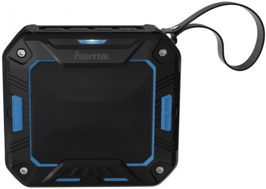 Портативная акустика Hama Rockman-S черный/синий 00173108 портативная акустика digma s 31 черный
