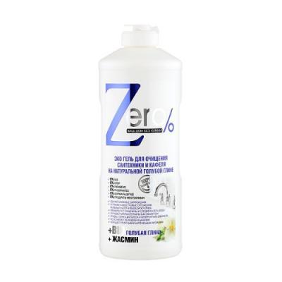 ZERO Гель для очищения сантехники и кафеля 500мл zero гель д мытья посуды натуральная горчица 500мл 1118259