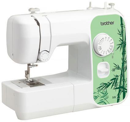 Швейная машина Brother X-8 белый/зеленый швейная машина brother jsl 15