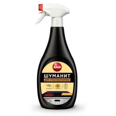БАГИ Спрей для чистки стеклокерамики Шуманит 500мл спрей для чистки свч topperr 500 мл